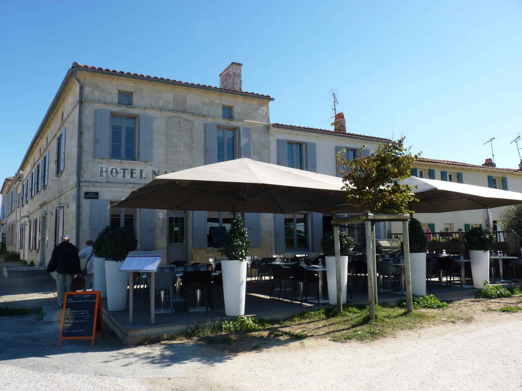 Aix island's gastronomy - Crossings by ferry boats Fouras / Aix island